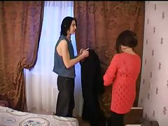 Групповой секс с русской пожилой женщиной