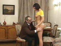 Отменный секс с учителем за хорошие оценки